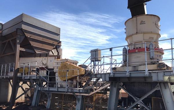 南非广西恩迪破碎线项目