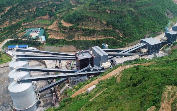陕煤新材集团富平年产300万吨骨料项目